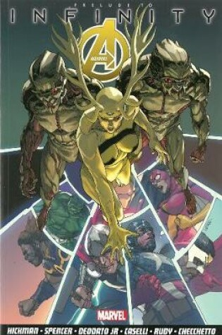 Cover of Avengers Vol.3: Infinity Prelude