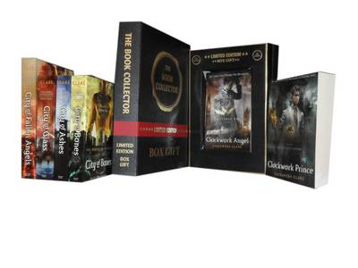 Book cover for The Mortal Instruments Collection