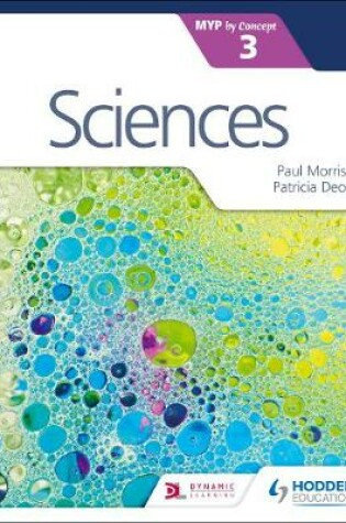 Cover of Sciences for the IB MYP 3