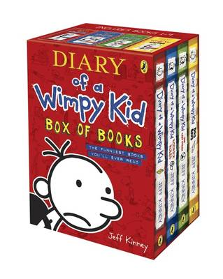 Cover of Diary of a Wimpy Kid Box of Books