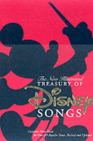 Cover of New Illustrated Treasury of Disney Songs