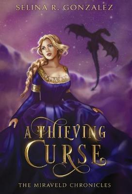 Book cover for A Thieving Curse