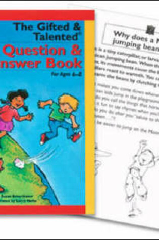 Cover of The Gifted & Talented Question & Answer Book for Ages 6-8