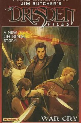Cover of Jim Butcher's Dresden Files: War Cry Signed Limited Edition
