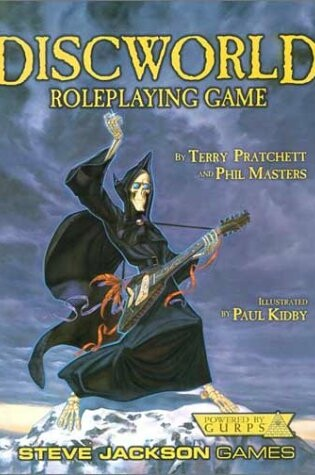 Cover of Discworld Roleplaying Game