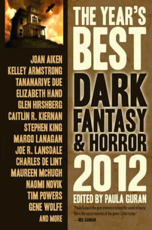Cover of The Year's Best Dark Fantasy & Horror 2012 Edition