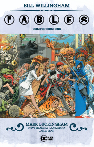 Cover of Fables Compendium One
