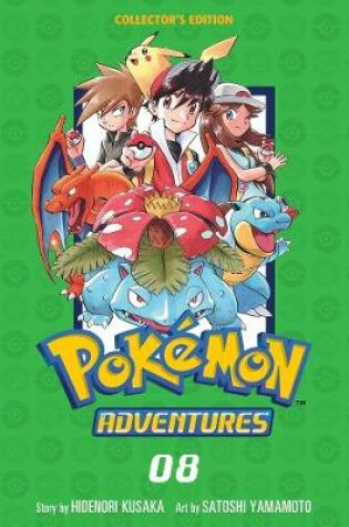 Cover of Pokemon Adventures Collector's Edition, Vol. 8