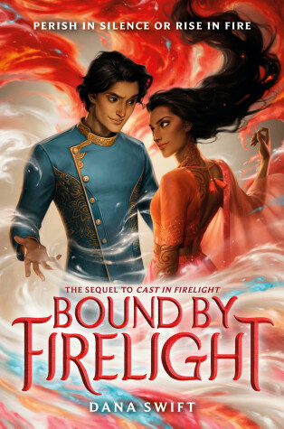 Book cover for Bound by Firelight