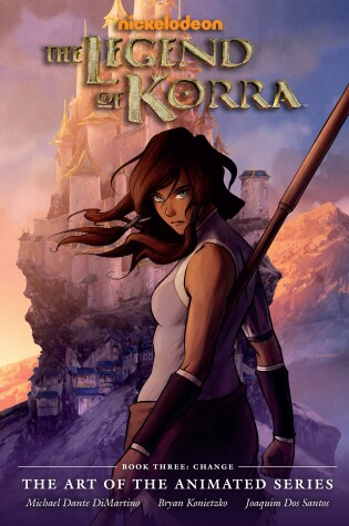 Cover of Legend Of Korra: Art Of The Animated Series, The Book 3