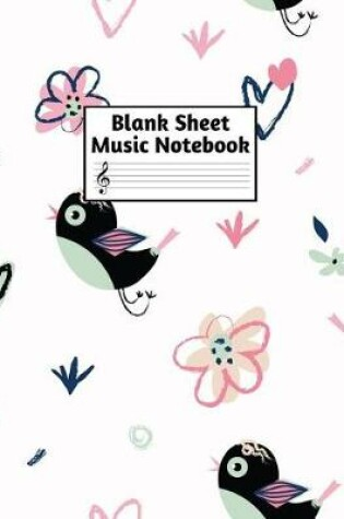 Cover of Blank Sheet Music Notebook