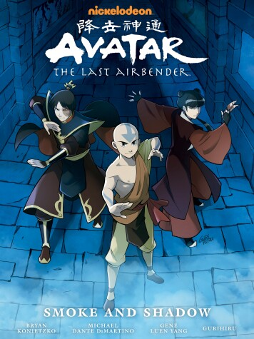 Book cover for Avatar: The Last Airbender - Smoke And Shadow Library Edition