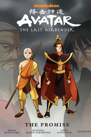 Avatar: The Last Airbender: The Promise Library Edition