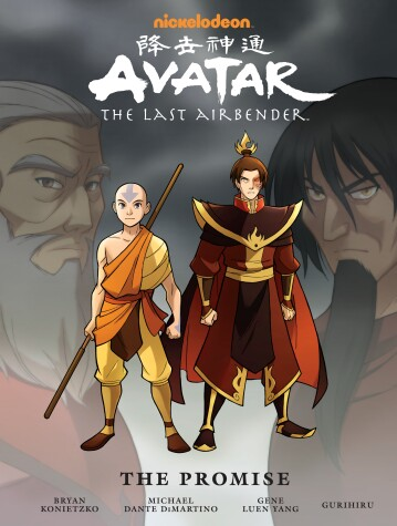 Book cover for Avatar: The Last Airbender: The Promise Library Edition