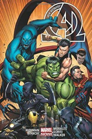 Cover of New Avengers By Jonathan Hickman Volume 2