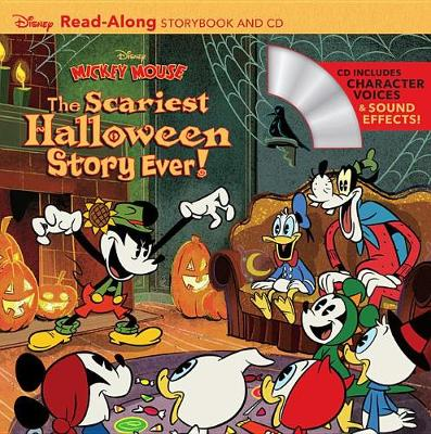 Book cover for Disney Mickey Mouse: The Scariest Halloween Story Ever!