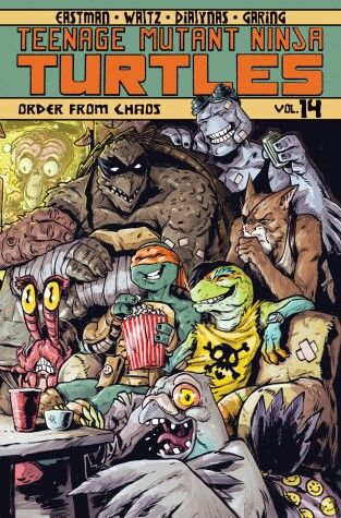 Cover of Teenage Mutant Ninja Turtles Volume 14: Order From Chaos