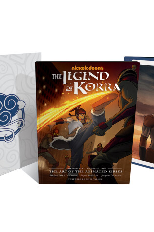 Cover of The Legend of Korra: The Art of the Animated Series--Book One: Air Deluxe Edition (Second Edition)