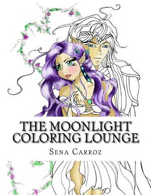 Book cover for The Moonlight Coloring Lounge