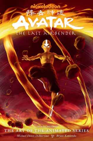 Cover of Avatar: The Last Airbender - The Art Of The Animated Series Deluxe (second Edition)