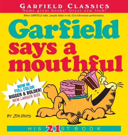 Cover of Garfield Says A Mouthful
