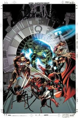 Cover of Avengers By Jonathan Hickman: The Complete Collection Vol. 4