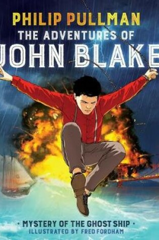 Cover of Adventures of John Blake: Mystery of the Ghost Ship