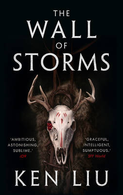 Book cover for The Wall of Storms