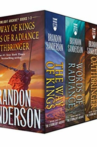 Cover of Stormlight Archive MM Boxed Set I, Books 1-3
