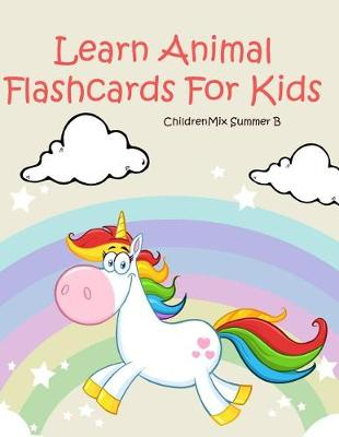 Cover of Learn Animal Flashcards For Kids