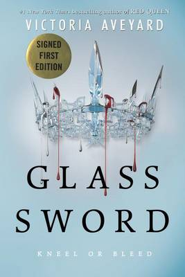 Cover of Glass Sword (Signed)