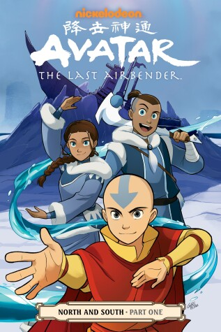 Cover of Avatar: The Last Airbender - North & South Part One