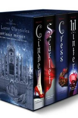Cover of The Lunar Chronicles Boxed Set