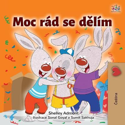 Cover of I Love to Share (Czech Children's Book)