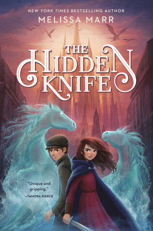 Cover of The Hidden Knife