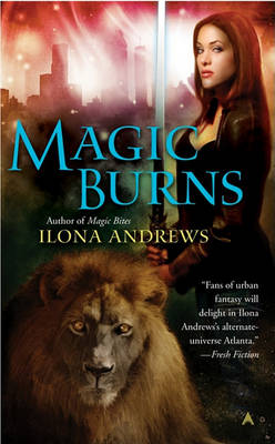 Book cover for Magic Burns