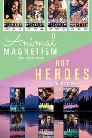 Cover of The Hot Heroes And Animal Magnetism Collection