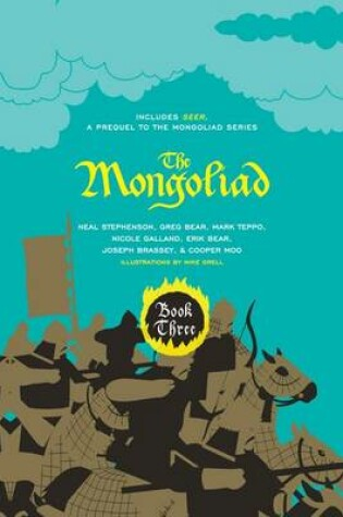 Cover of The Mongoliad: Book Three Collector's Edition