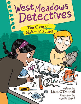 Cover of West Meadows Detectives: The Case of Maker Michief