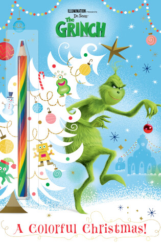 Cover of A Colorful Christmas! (Illumination's the Grinch)