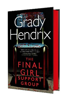 Book cover for The Final Girl Support Group (Waterstones edition)