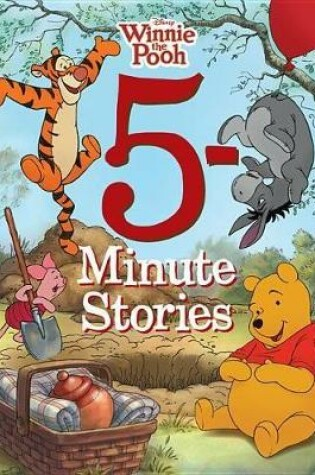 Cover of 5-minute Winnie The Pooh Stories