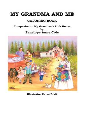 Cover of My Grandma and Me Coloring Book