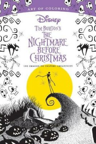 Cover of Art Of Coloring: Tim Burton's The Nightmare Before Christmas