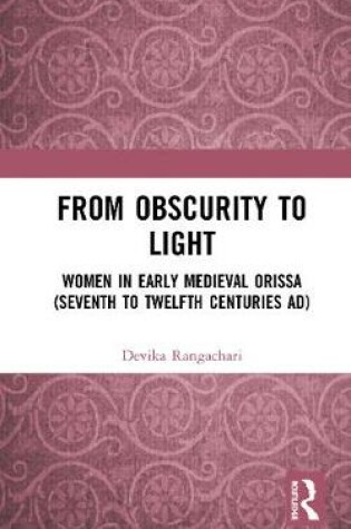 Cover of From Obscurity to Light
