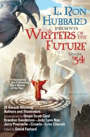 Cover of L. Ron Hubbard Presents Writers of the Future Volume 34