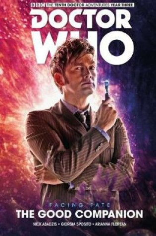 Cover of Doctor Who: The Tenth Doctor Facing Fate Volume 3