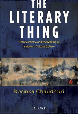 Cover of The Literary Thing