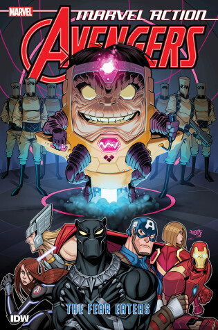 Cover of Marvel Action: Avengers: The Fear Eaters