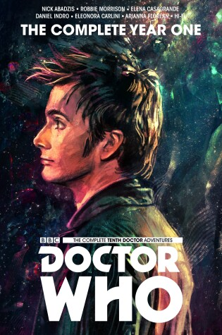 Cover of Doctor Who: The Tenth Doctor Complete Year One